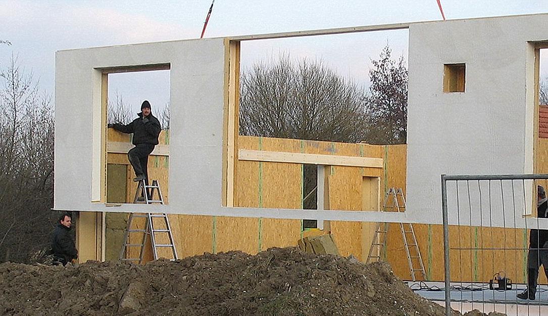 Holzhausbau - Passivhausbau